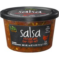 Fresh Cravings Hot Restaurant Style Crave Salsa, 16 oz