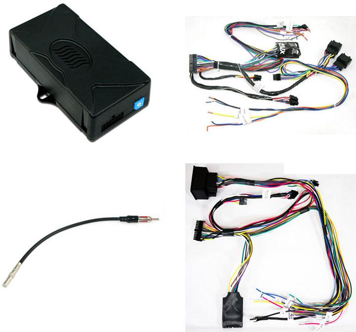 Crux DKGM49 Radio Replacement SWC Retention For GM LAN 29 Bit Vehicles