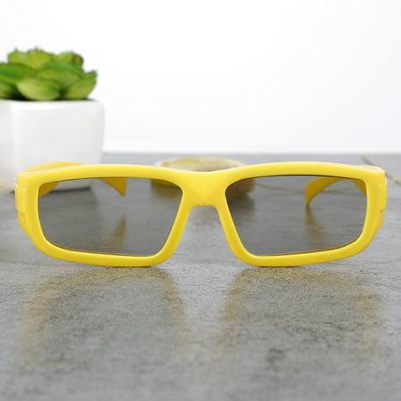 HISIN Children Kids Passive 3D Glasses Circular Polarized Light for Real-D Sony MZ ()