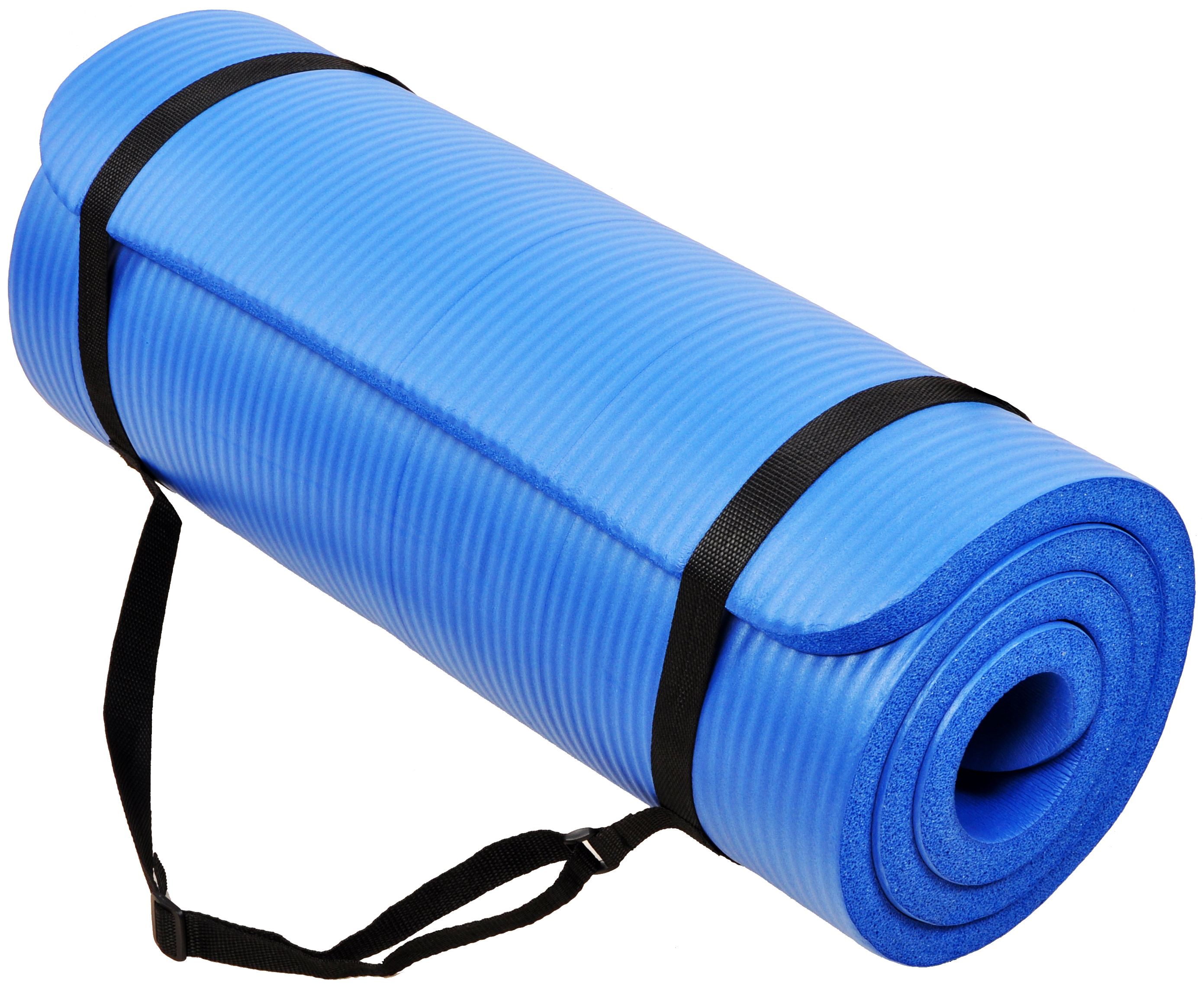Exercise Yoga Foam Mat All-Purpose 1//2-Inch Extra Thick High Density Anti-Tear