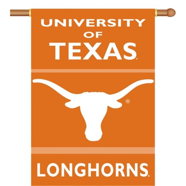 Bsi Products 96034 2-Sided 28'' X 40'' Banner W/ Pole Sleeve - Texas Longhorns