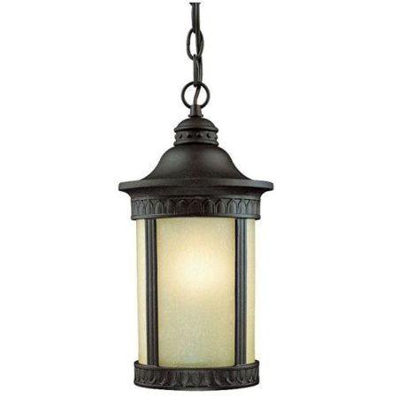 Westinghouse 67545 Craftsman / Mission 1 Light Outdoor Pendant from the Castle I