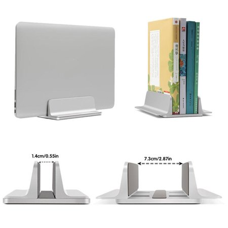 Universal Vertical Aluminum Laptop Stand for MacBook, for