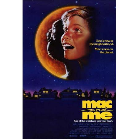 Mac and Me POSTER Movie - Maquillaje Mac Halloween