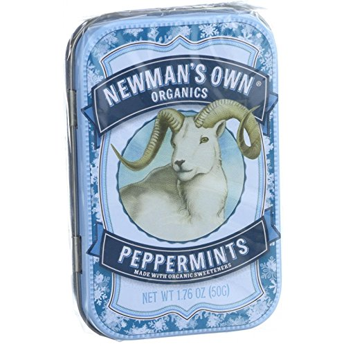 Newman'S Own Peppermint Mints 1. 76 Oz -Pack of 6