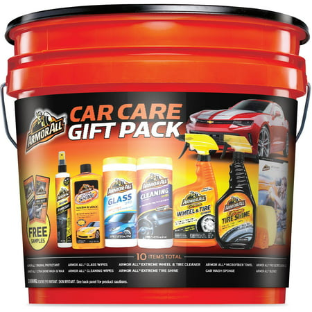 - Armor All Ultimate Car Care Gift Pack Bucket (10 Pieces)
