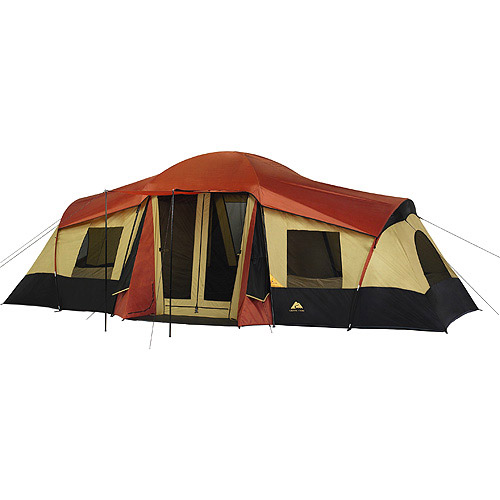 Ozark Trail 3-Room XL Vacation Lodge C&ing Tent  sc 1 st  Walmart & Ozark Trail 3-Room XL Vacation Lodge Camping Tent - Walmart.com