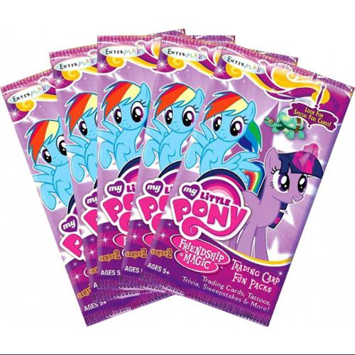 Trading Cards Series 2 My Little Pony Series 2 Lot of 5 Trading Card Packs