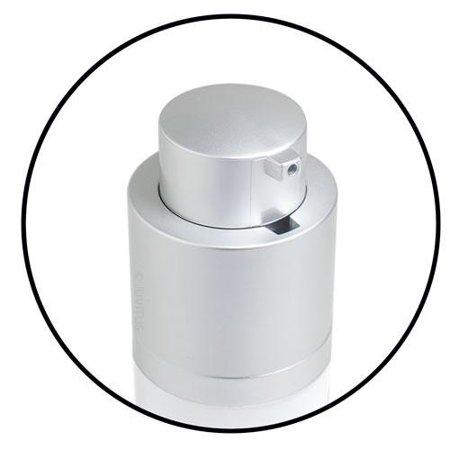 Bottle Top Bags - Airless Twist Top Pump Bottle Container - 1 oz + Clear Vinyl Travel Bag