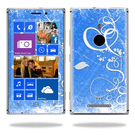 Skin Decal Wrap for Nokia Lumia 925 Cell Phone sticker Abstract Flower Flower Power Decals