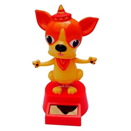 Solar Chihuahua Dancing, Random Color/Style, [1 pc, random] for $<!---->