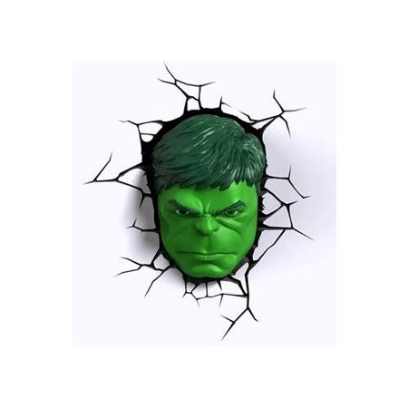 Blue sky wireless 2000131 3d light fx marvel hulk mask 3d deco led blue sky wireless 2000131 3d light fx marvel hulk mask 3d deco led wall light aloadofball Images