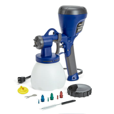 Home Right Super Finish Max Extra Hvlp Paint Sprayer With 3 Spray Tips And 2 Caps by Home Right