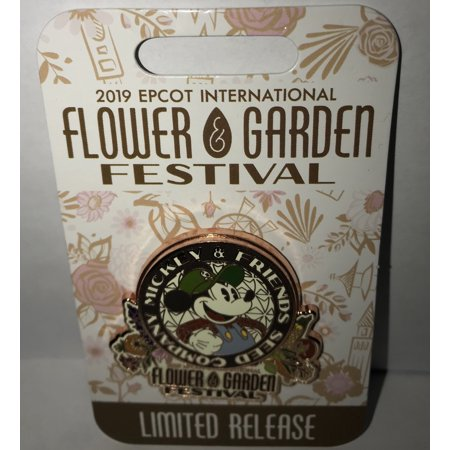 Disney Flower & Garden 2019 Mickey and Friends Seed Company Limited Pin New