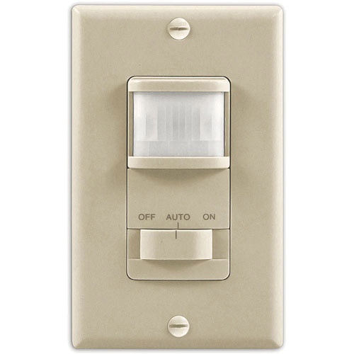 Heath/Zenith SL-6115-IV Motion Sensor Timer Wall Switch, Ivory