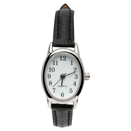 Womens leather black Watch