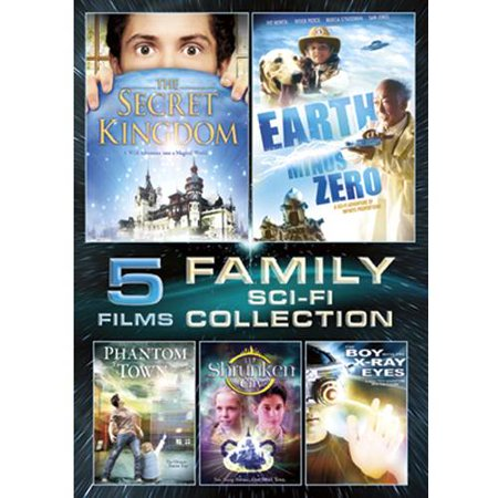 5-Film Family Sci-Fi: The Secret Kingdom / Earth Minus Zero / Phantom Town / The Shrunken City / The Boy With The X-Ray Eyes (Kingdom Hearts 1 Halloween Town Secrets)