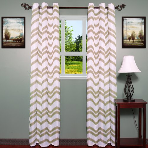 Sweet Home Collection Ivana Curtain Panels (Set of 2)