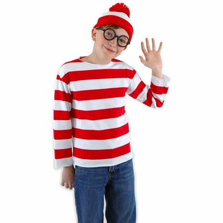 Where's Waldo Child Halloween Costume](Wilko Halloween)