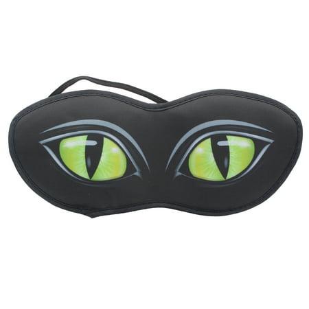 Cat Eyes Sleep Mask - Halloween Cat Eye Masks