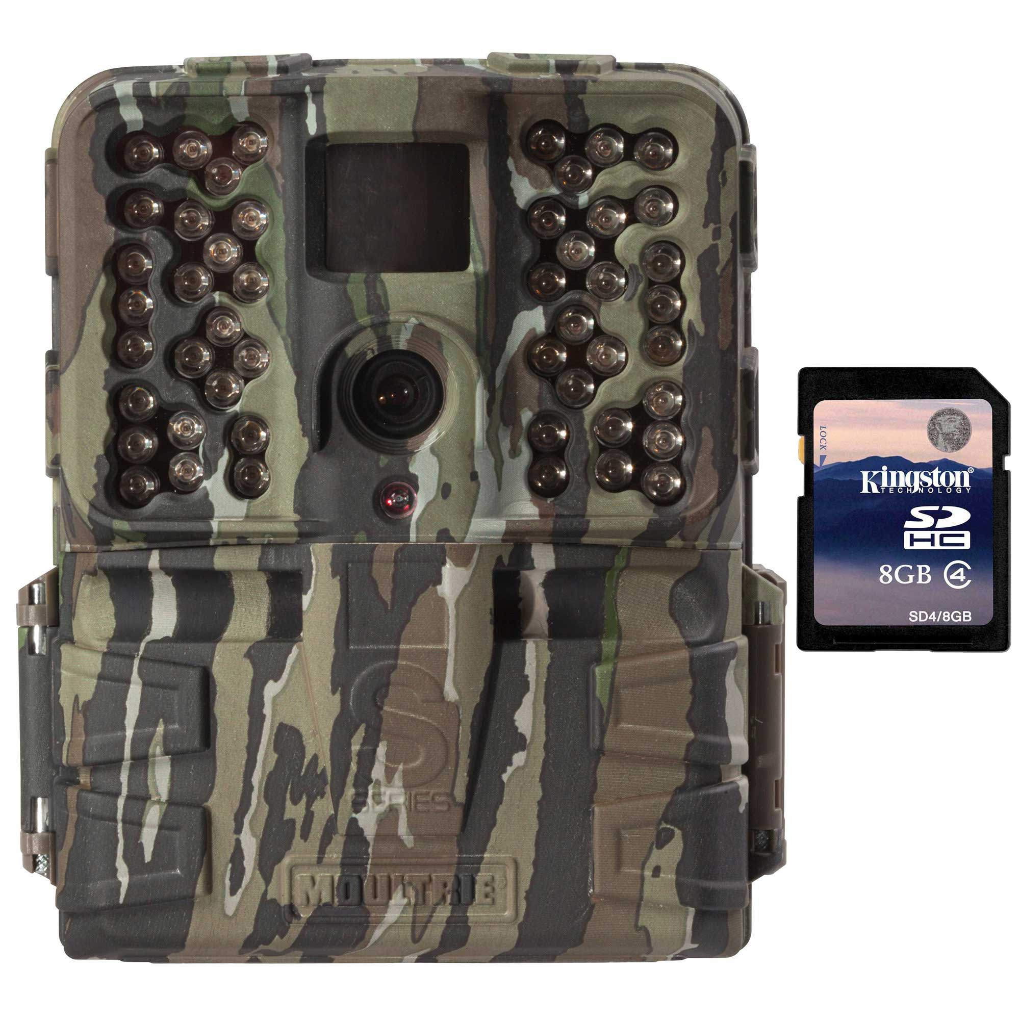 Moultrie S-50i 20MP 80' FHD Video No Glow IR Game Trail C...