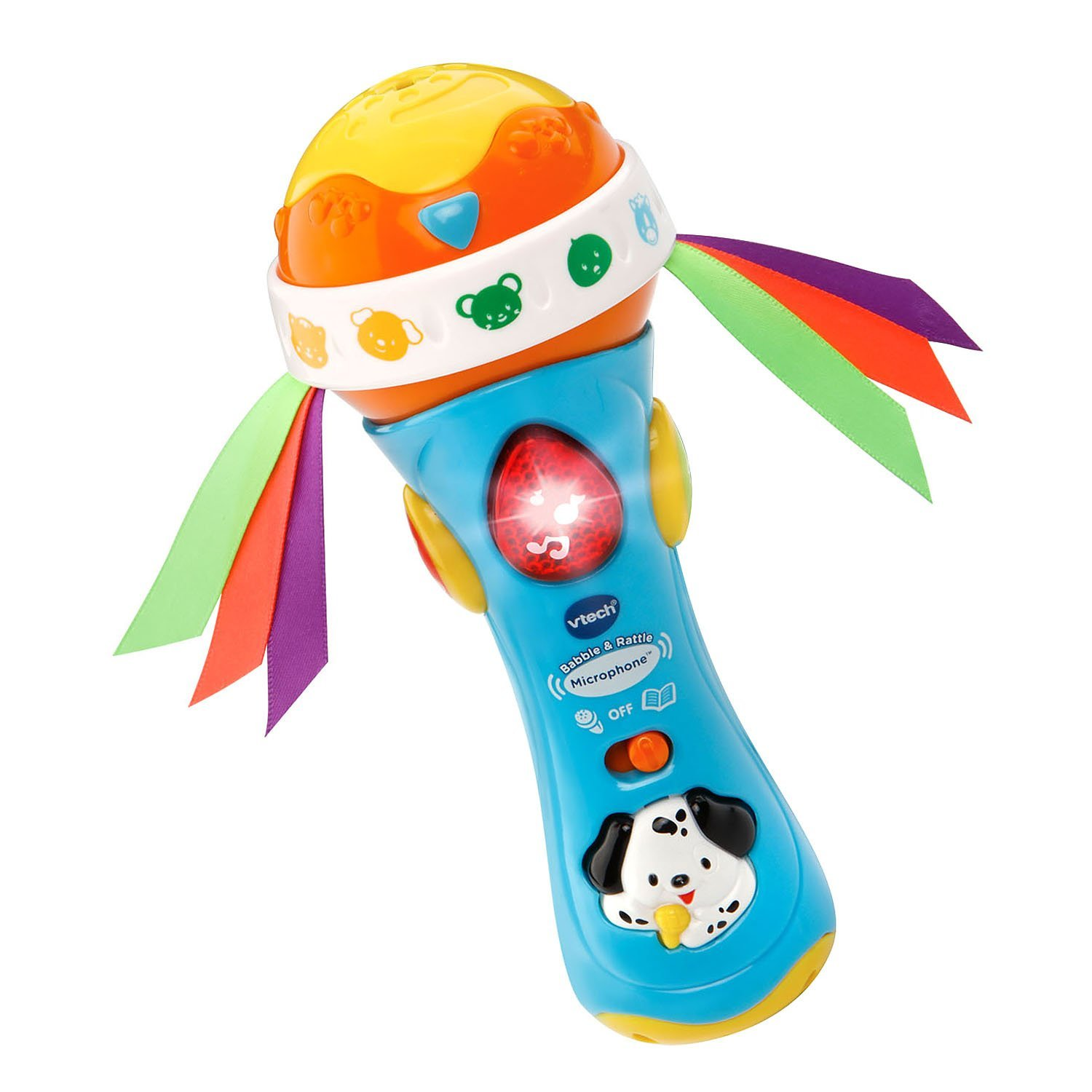 Ba Babble and Rattle Microphone, Brand Best Quality Warranty,From U.S, Brand VTech by