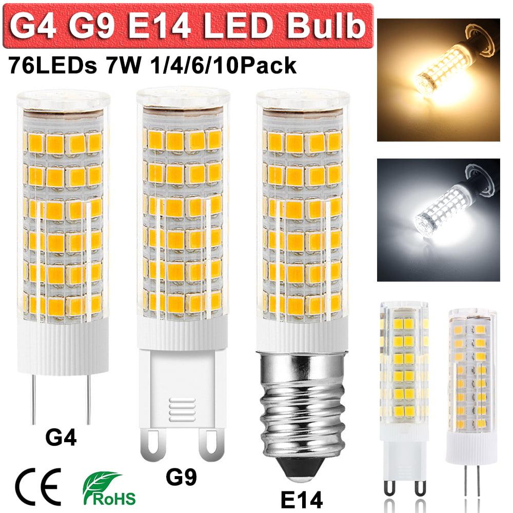 G9 Base Clear 6 Pack Bulbrite Q100G9//120 100-Watt Dimmable Halogen Line Voltage JC Type T4