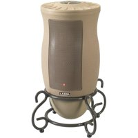 Lasko 1500W Designer Series Ceramic Space Heater with Remote, 6435, Beige