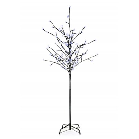 Winterland CH-108BL-06-24V 6 ft. Tall Blue Cherry Tree With 108 LED Light
