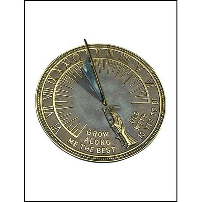 Brass Father Time Sundial