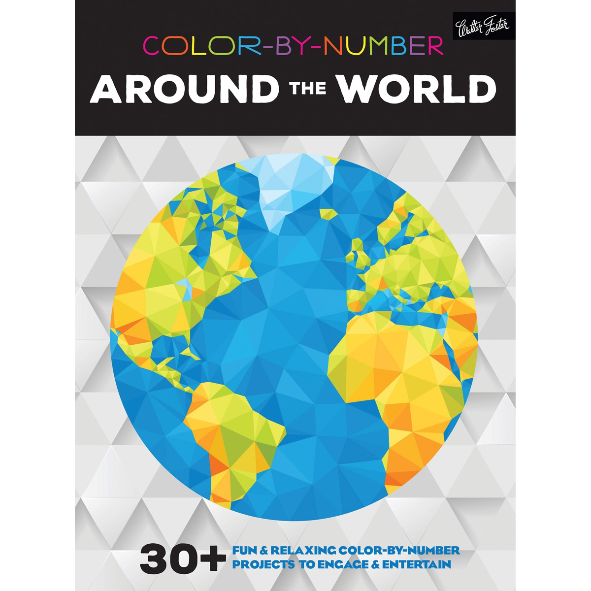 Walter Foster Creative Books-Color By Number - Around The World WFC ...