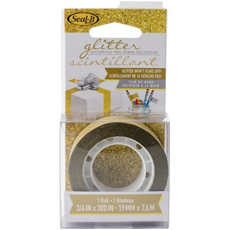 Gold Glitter Tape (Le Page's Seal-It Glitter Tape)