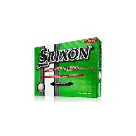 Srixon Soft Feel Golf Balls, 12 Pack