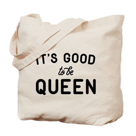 CafePress - It's Good To Be Queen - Natural Canvas Tote Bag, Cloth Shopping (Life Is Good Canvas Tote)