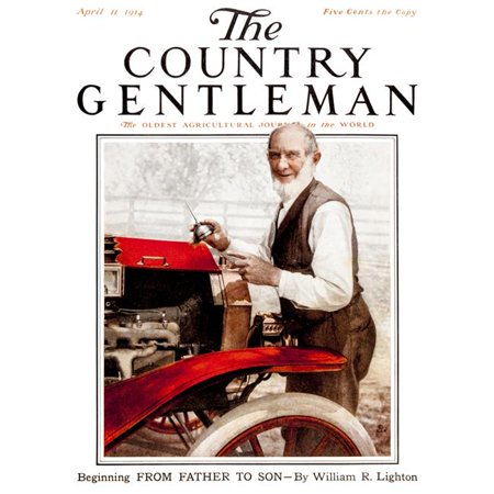 Country Gardens Magazine - Posterazzi DPI12272525LARGE Cover of Country Gentleman Agricultural Magazine From The Early 20th Century Poster Print - 26 x 34 in. - Large