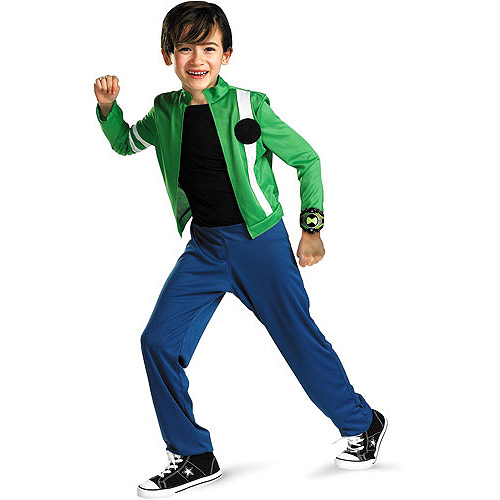 Ben 10 Alien Force Child Halloween Costume  sc 1 st  Walmart : aliens costumes  - Germanpascual.Com