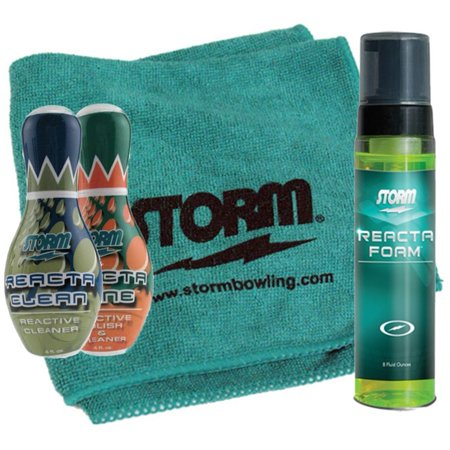 Storm Bowling Ball 3 Reacta Cleaner Package and (Cleaner Package)