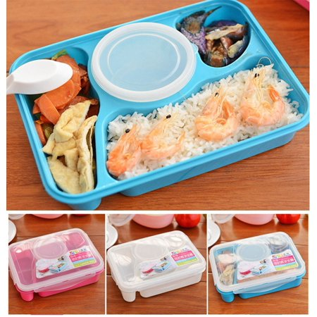 portable bento lunch box utensils food storage containers microwave oven box. Black Bedroom Furniture Sets. Home Design Ideas