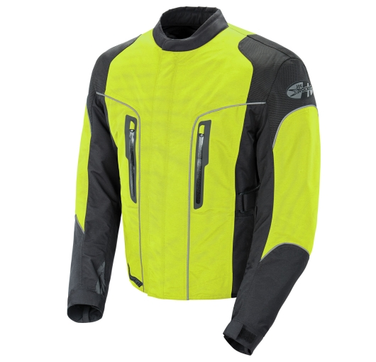 Joe Rocket Alter Ego 3.0 Mens Hi-Viz/Neon/Black Textile/M...