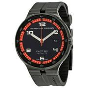 Porsche Design Flat Six Automatic Mens Sports Watch 6350.43.44.1254