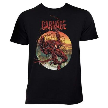 Carnage Circle Logo Tee Shirt