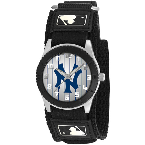 Game Time MLB Men's New York Yankees Rookie Series Watch, Black