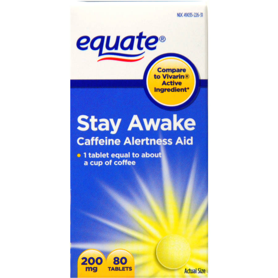 Equate Stay Awake, 80ct