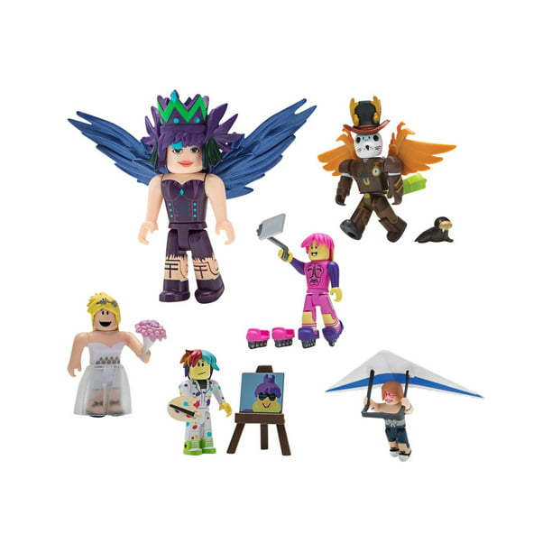 Brand New Citizens Of Roblox Toy Figures With Virtual Roblox Celebrity Collection Single Figure Pack Styles May Vary Includes 1 Exclusive Virtual Item Walmart Com Walmart Com