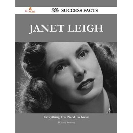 Janet Leigh 213 Success Facts - Everything you need to know about Janet Leigh - - Janet Leigh Halloween