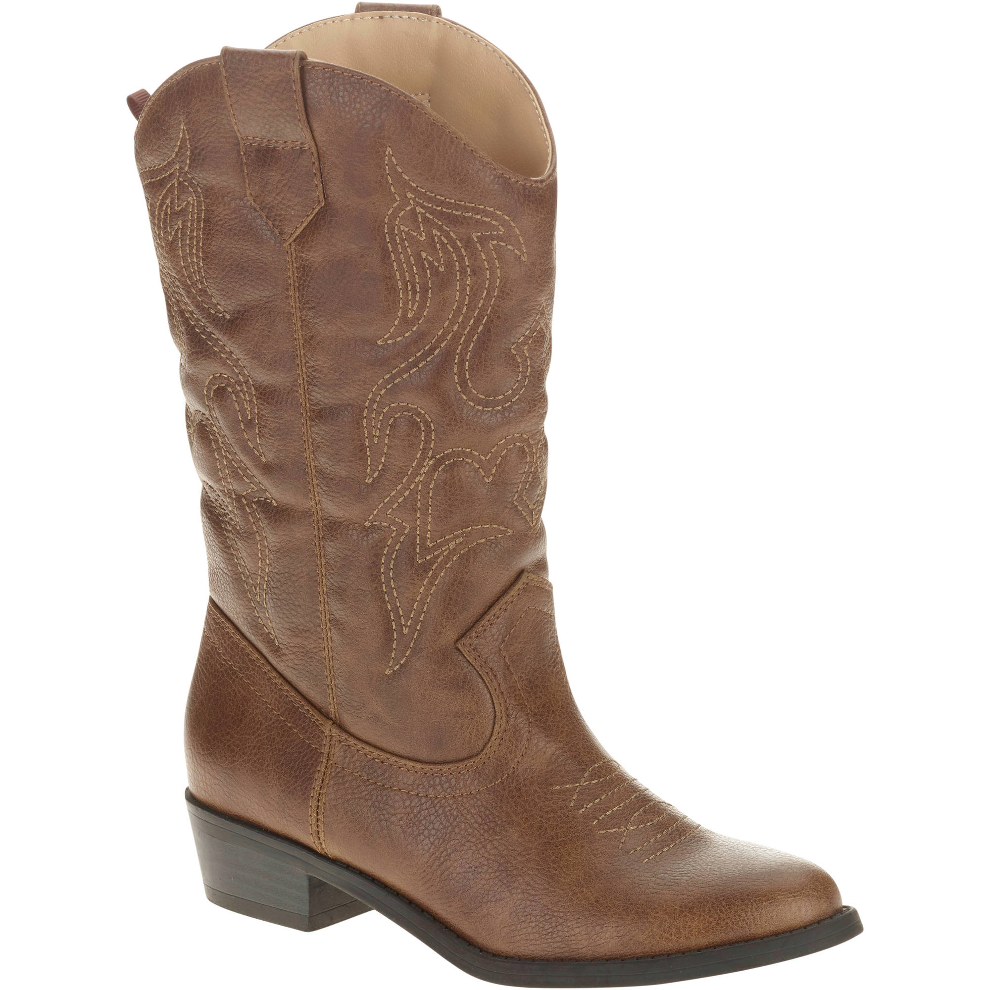 Faded Glory Girls' Cowgirl Boot - Walmart.com