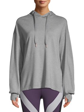 Avia Women's Athleisure Long Sleeve Tunic Hoodie