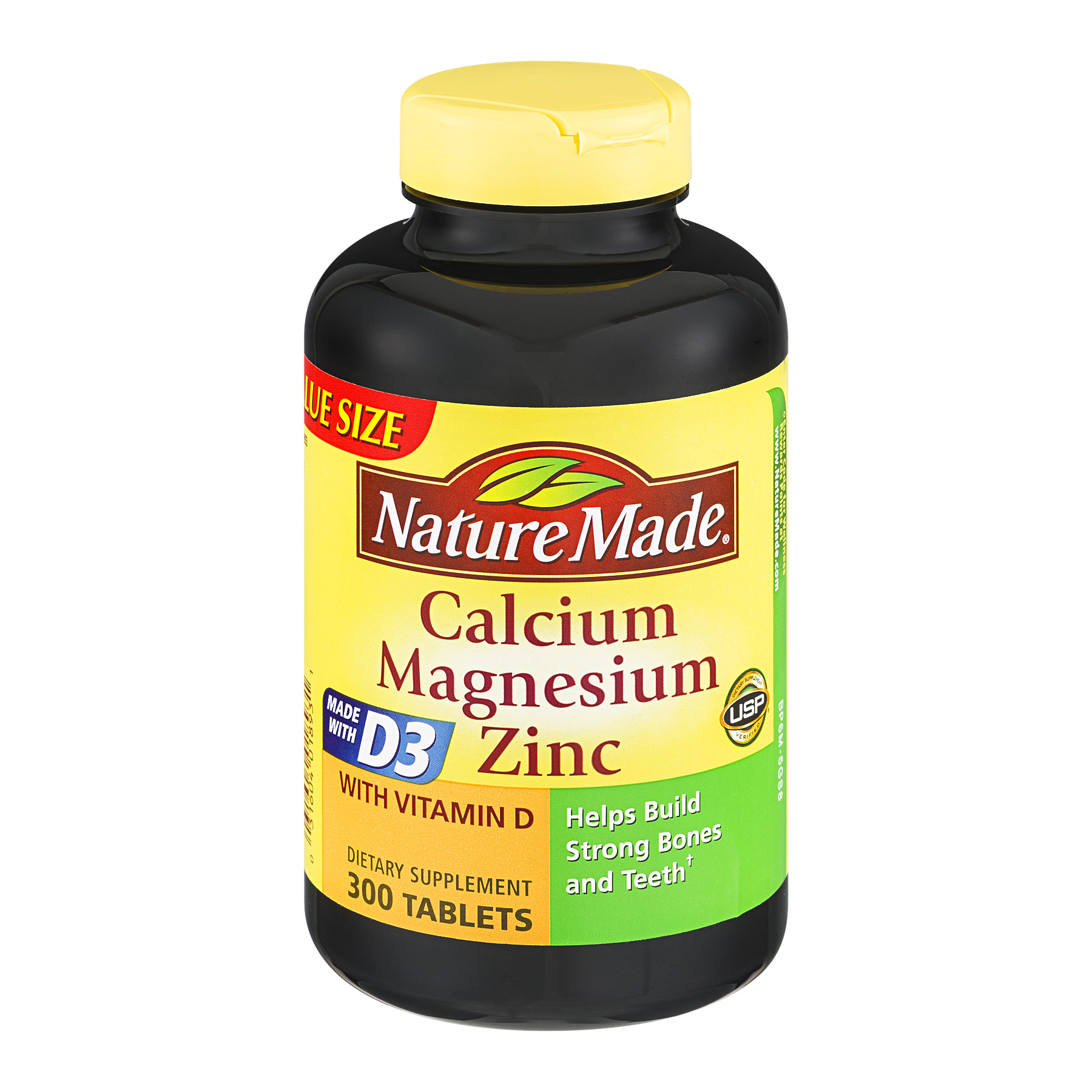 Nature Made Calcium, Magnesium & Zinc, 300 Ct