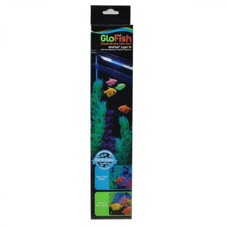 GloFish White/Blue LED Aquarium Light GloFish Light 10 - For 10 Gallon Aquariums - (13 LED Stick) (Aquarium Lighting 75 Gallon)