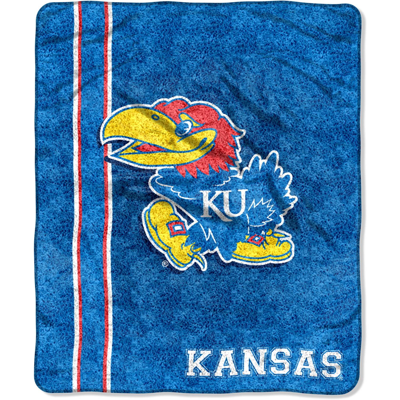 Kansas Jayhawks Sherpa Throw Blanket by Northwest
